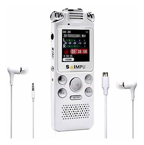grabadora de voz digital de 8 g para conferencias y reunione