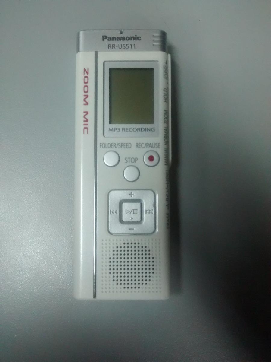 grabadora de voz panasonic rr us511 bs 1 20 en mercado libre rh articulo mercadolibre com ve Panasonic Cordless Phones panasonic rr-us511 manual de usuario