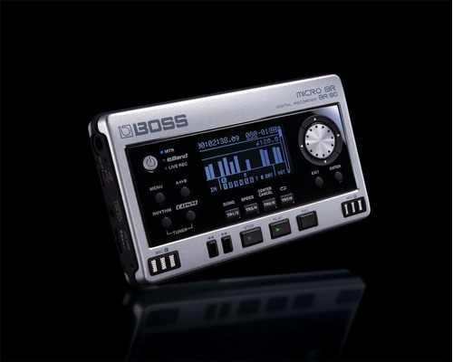 grabadora digital profesional boss br-80 8 pistas br80