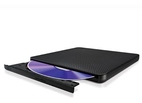 grabadora dvd±rw externa lg usb 2.0 ultraslim 8x dl sp80nb60