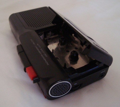 grabadora microcassette periodista sony