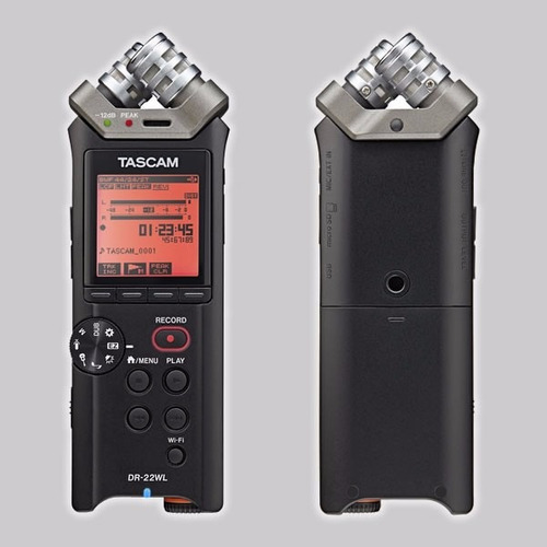 grabadora profesional tascam dr-22wl