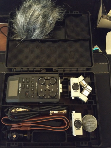 grabadora profesional zoom h6 impecable!!!