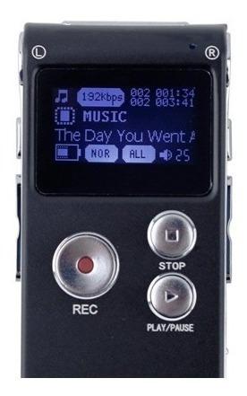 grabadora recargable digital 8gb almacenamiento periodistas