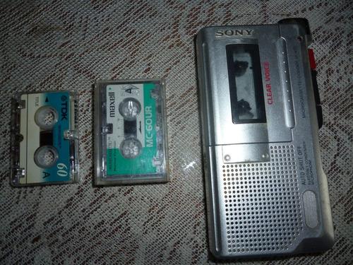 grabadora sony cassette