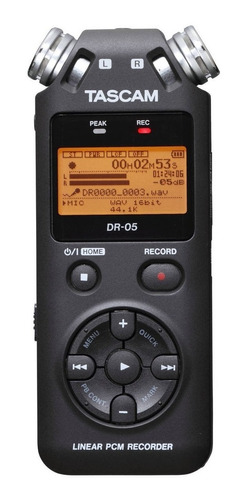 grabadora tascam dr 05 nuevo ofertón ! ! !