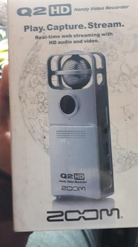 grabadora y filmadora hd zoom q2 hd.