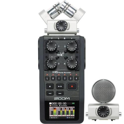 grabadora zoom h6