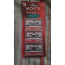 Microcassette Marca Sony 3mc-60