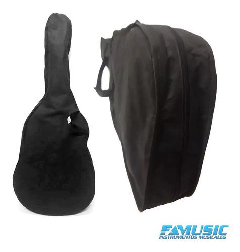 gracia m1 combo guitarra clasica + funda + afinador + acc