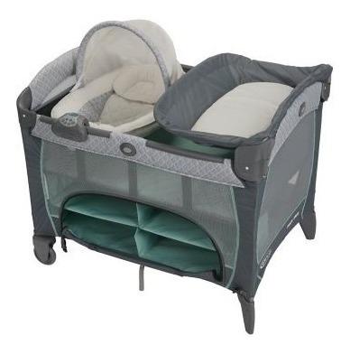 graco newborn napper dlx manor cuna corral cambiador bebe
