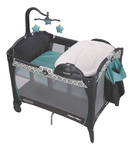 graco pack 'n play affinia cambiador cuna corral silla bebe