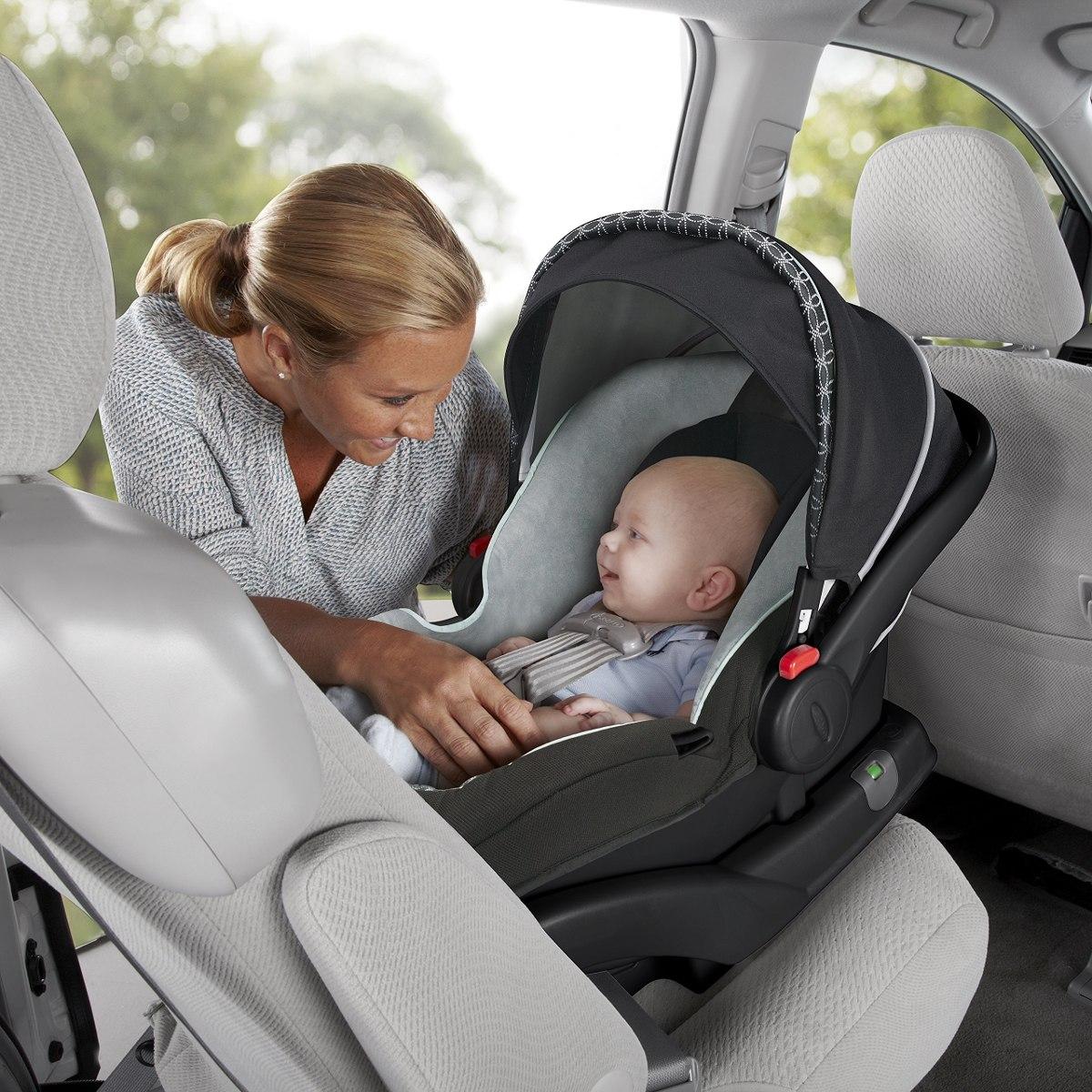 Graco SnugRide Click Connect 30 LX Infant Car Seat Base Silver 1928148