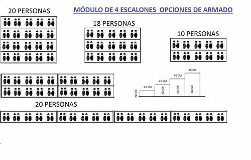 gradas /tarimas / coros /  alquiler y ventas