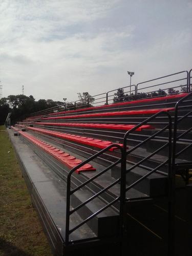 gradas tribunas escenarios tubulares tarimas