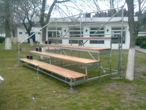 gradas, tribunas palcos desmontables para eventos