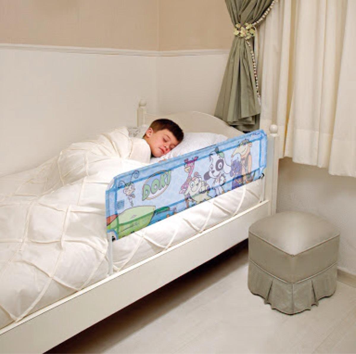 Grade de cama infantil doki discovery kids r 72 40 em - Dosel para cama infantil ...