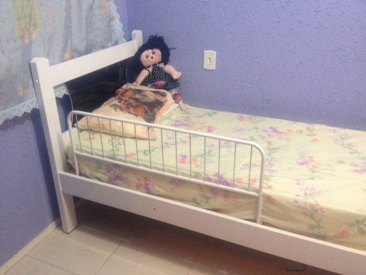 grade de proteção segurança para cama - 2 pçs toda metalica. Carregando  zoom. d7b1cb10c7