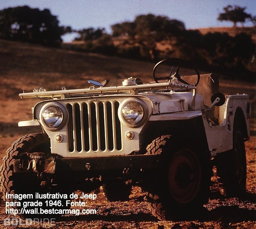 Grade Dianteira Jeep Willys 46 52 Original R 1 150 00 Em