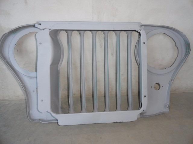 Grade Dianteira Painel Frontal Quadro Radiador Jeep Willys R