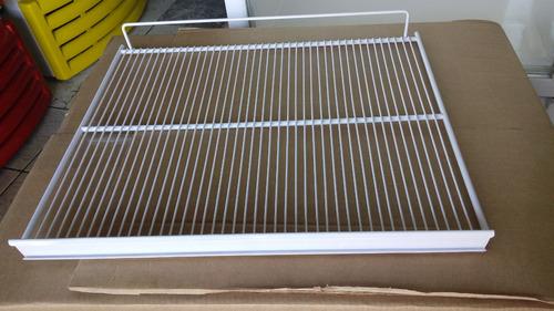 grade prateleira metalfrio vb40 vb43 46x054 c/ 4 suportes
