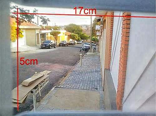 grade proteção para câmera externa promoção