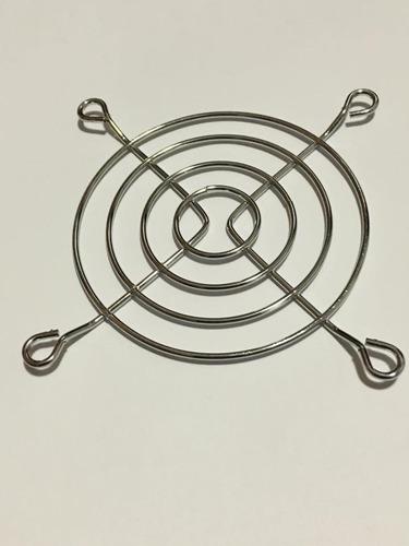 grade tela proteção cooler ventilador ventoinha 80x80 mm