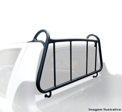 grade vigia fiat strada 2005 proteção vidro traseiro