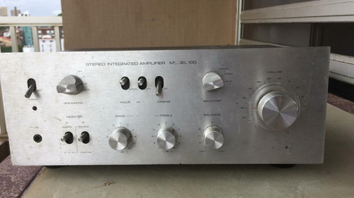 gradiente model 120 stereo amplificador integrado impecável.