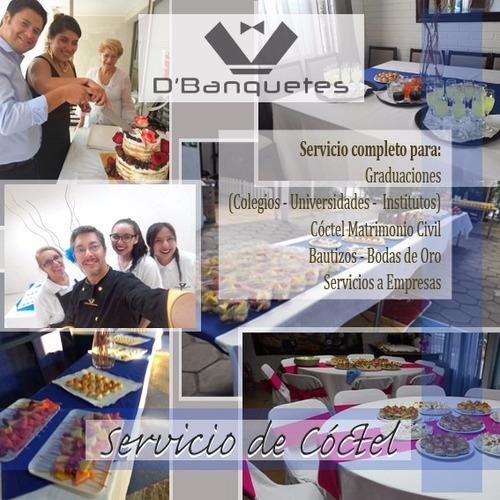graduaciones de colegios en santiago - productos de coctel