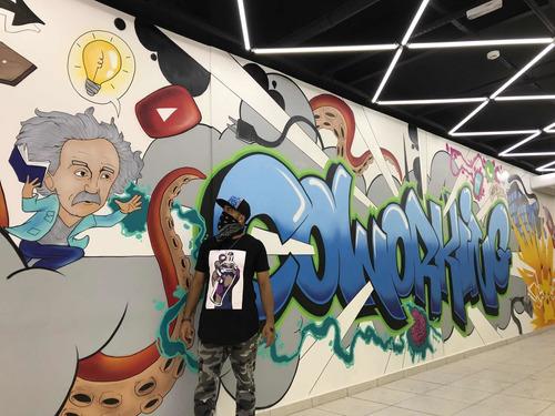 graffiti comercial