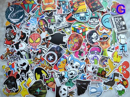 graffiti de 300pcs bomba vinilo calcomanías droga coche