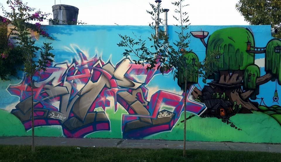 graffiti murales diseo de interior banderas pintura