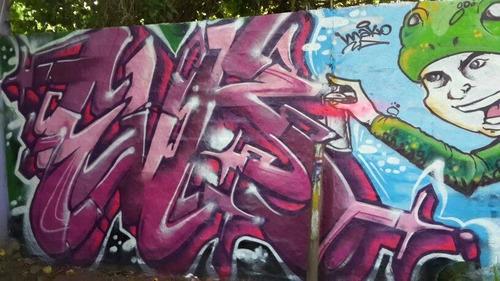 graffiti, murales, no vinilo decorativo, cuadros, tripticos