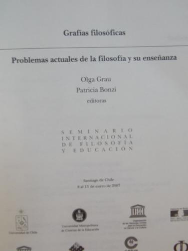 grafías filosóficas, filosofía y su enseñanza 2007, 600 pag