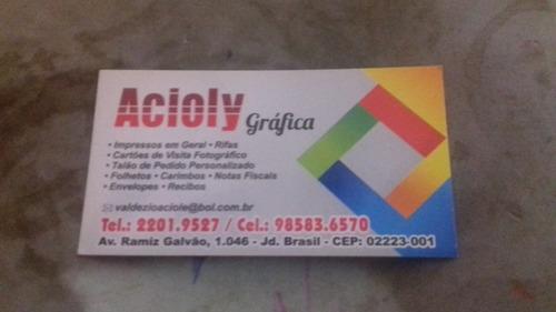 grafica acioly