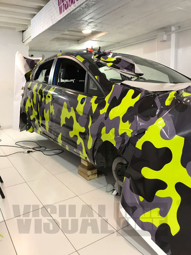 grafica vehicular wrap ploteo premium - visualone