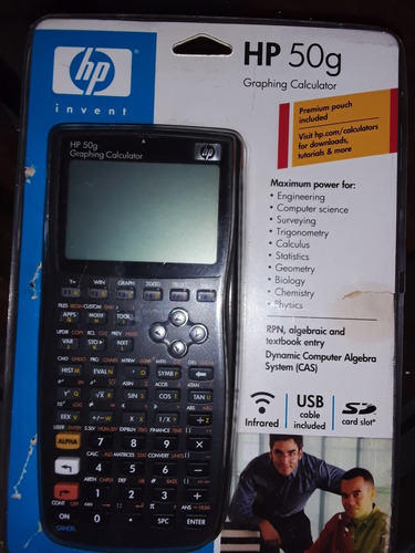 graficadora hp 50g