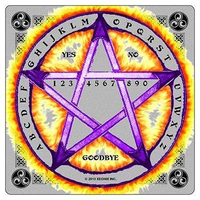 grafico de pentagrama para radiestesia