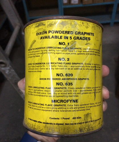 grafito en polvo