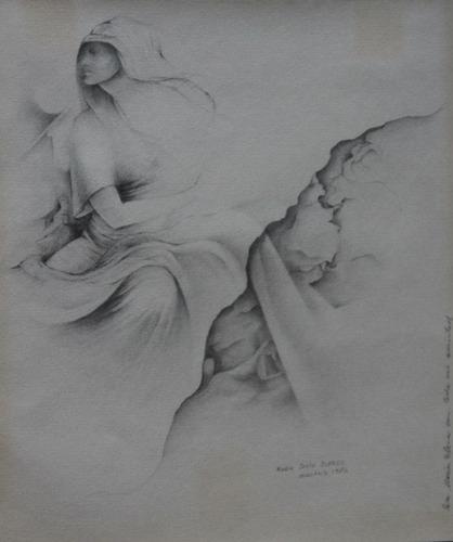 grafito sobre papel de mario justo juarez