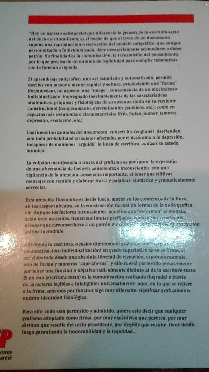 Grafologia Analitica De Manuel J.moreno - $ 12.000 en Mercado Libre