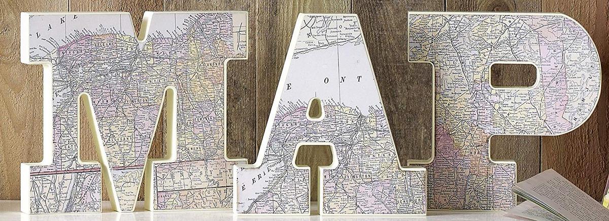 Resultado de imagen de mapas letras