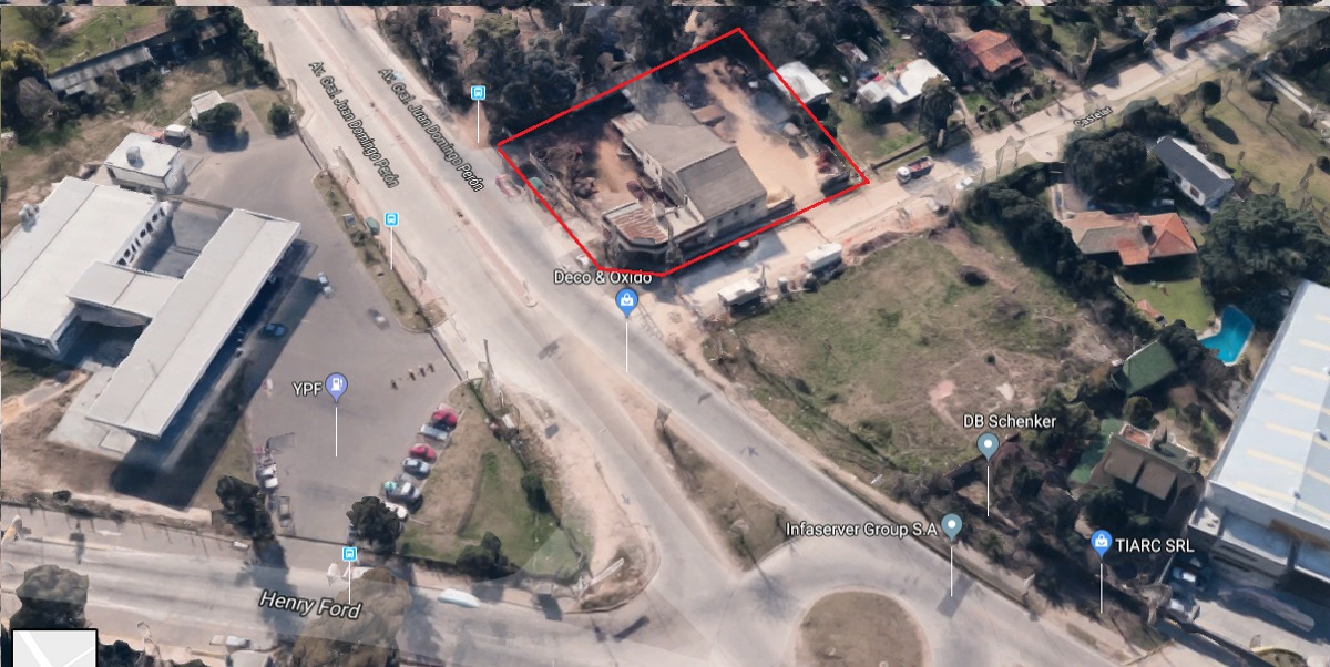 gral. pacheco - ruta 9 y h. ford - comercial -