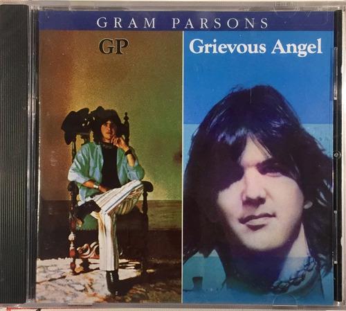 gram parsons - gp - grievous angel - cd imp. usa lacrado