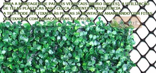 Grama artificial buchinho muro ingl s 25x25cm kit 4 placas for Tela para muro verde