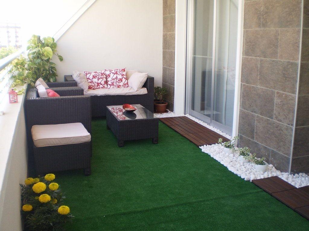 Grama sintetica 100x100cm alfombra jardin terraza cesped en mercado libre - Cesped artificial terrazas ...