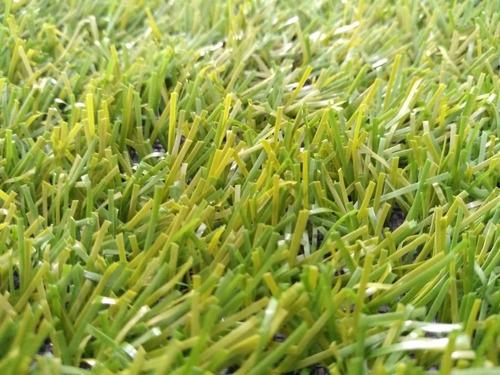 grama sintética bicolor 30mm - semelhante natural