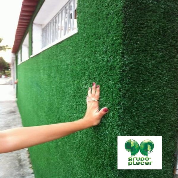 Grama sint tica decorativa revestimento muro parede viva - Plantas de exterior baratas ...