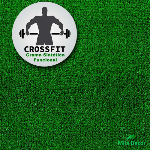 grama sintética grass gym academia 2x22m 44m² frete grátis
